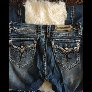 Rock Revival May Easy Boot Jeans Sz. 29 #110